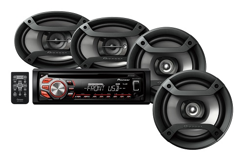 auto speakers en cd speler